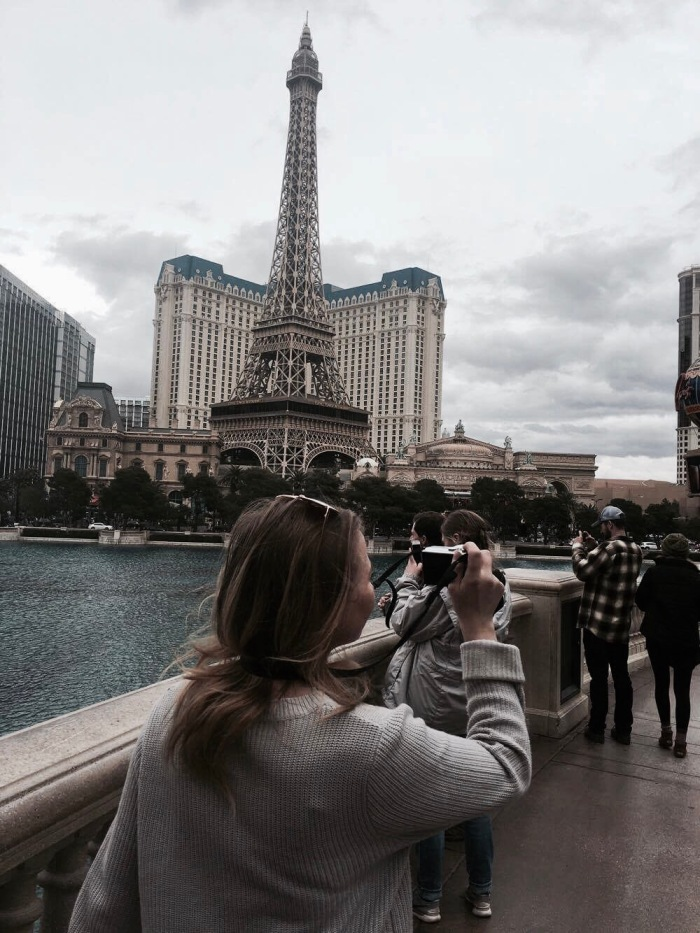 18th Birthday, Las Vegas, and first visit from home